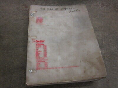 John Deere 350c 350-c Crawler Dozer Loader Backhoe Operators Parts Manual