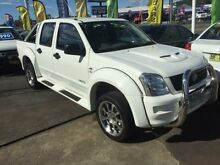 2005 Holden Rodeo RA LX White 5 Speed Manual Crewcab Cardiff Lake Macquarie Area Preview