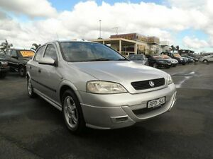 2002 Holden Astra TS Equipe City Silver 5 Speed Manual Sedan Heatherton Kingston Area Preview
