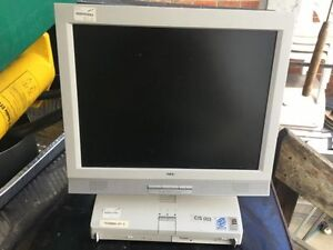 Nec computer with monitor