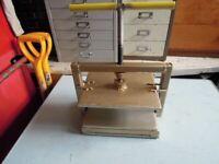 Small press ideal arts & crafts.