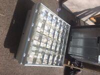 Large Suspension or Inset Ceiling Lights