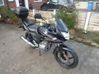 Nice cbf 125cc 12 Months MOT, All the paperwork including logbook! Minor damages (cosmetic)