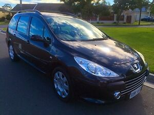 2005 Peugeot 307 T5 MY05 XSR Touring HDi Black 5 Speed Manual Wagon North Brighton Holdfast Bay Preview