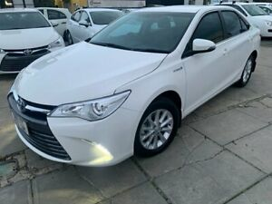 2017 Toyota Camry AVV50R MY16 Altise Hybrid Diamond White Continuous Variable Sedan