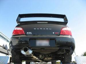 WRX / STI ------subaru exhaust muffler +pipe