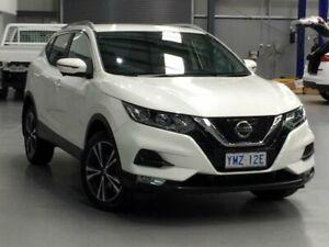 2018 Nissan Qashqai J11 Series 2 ST-L Ivory Pearl Constant Variable Wagon