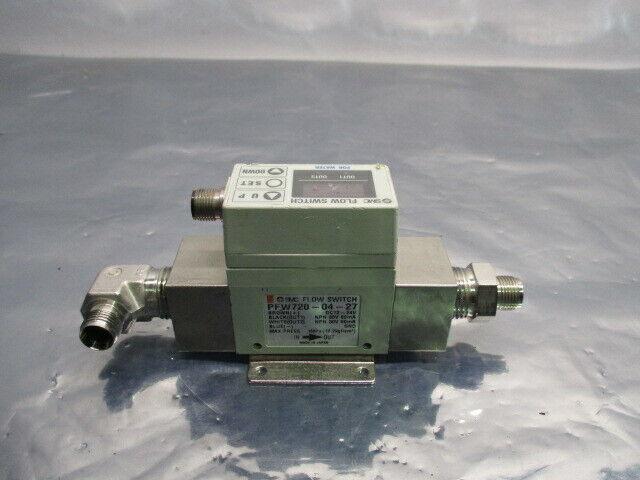 SMC PFW720-04-27 Digital Flow Switch, AMAT 0010-02051, PFW720-UIB990257, 453564