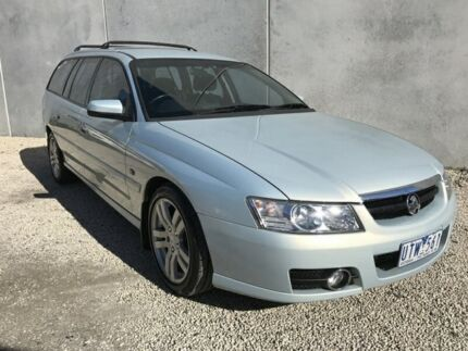 2005 Holden Berlina VZ Opal Silver Blue 4 Speed Automatic Wagon