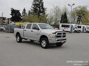 2015 RAM 2500 CREW CAB SHORT BOX 4X4 HEMI ONLY 40000KM