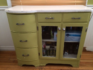 solid wood storage cabinet