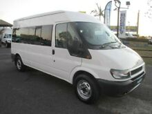 2005 Ford Transit VJ Mid Roof White 5 Speed Manual Bus Archerfield Brisbane South West Preview