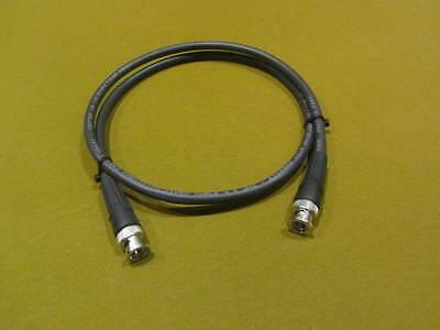 Belden 1694A SDI-HDTV, RG6 Digital Video BNC Male to Male Black Cable, 1 Ft. Digital Video Bnc Cable
