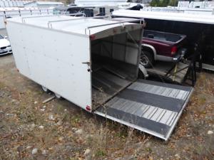Enclosed Snowmobile/ATV trailer for sale