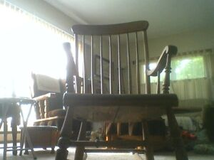 $40 Dollars For This Antique Rocking Chair