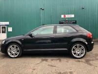 DEPOSIT NOW TAKEN AUDI A3 S-LINE 39k MILES FSH £30 tax 6 MONTHS WARRANTY INC