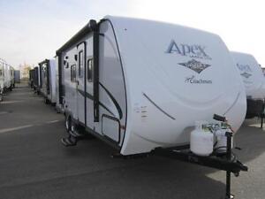 2016 26 FT COACHMEN RV APEX ULTRA-LITE 235BHS TRAVEL TRAILER