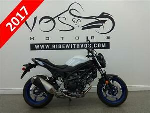 2017 Suzuki SV650 - V2342 - **Financing Available