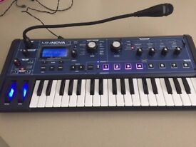 Novation Mininova synthesizer/vocoder - excellent condition £200