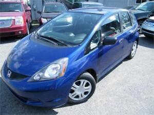 2009 Honda Fit DX-A . FINANCEMENT MAISON AVEC 500$ DISPO