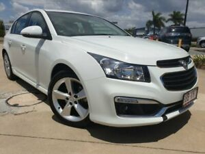 2015 Holden Cruze JH Series II MY15 SRi-V White 6 Speed Sports Automatic Hatchback Garbutt Townsville City Preview