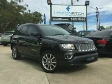 2013 Jeep Compass MK MY14 Limited Black 6 SPEED Semi Auto Wagon Southport Gold Coast City Preview