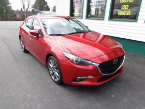 2018 Mazda Mazda3 Sport GT for only $195 bi-weekly all in!