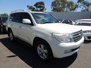 2010 Toyota Landcruiser VDJ200R MY10 Sahara White 6 Speed Sports Automatic Wagon Oakleigh Monash Area Preview