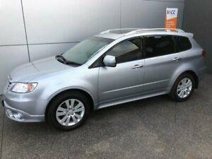2012 Subaru Tribeca B9 MY13 R AWD Premium Pack Ice Silver 5 Speed Sports Automatic Wagon Coburg North Moreland Area Preview