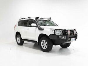 2015 Toyota Landcruiser Prado KDJ150R MY14 GXL White 6 Speed Manual Wagon Cooee Burnie Area Preview
