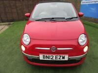 2012 Fiat 500 1.2 Lounge Dualogic 3dr (start/stop) AUTO WITH PAN