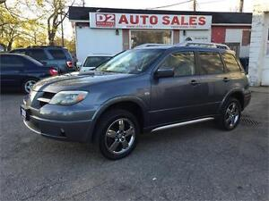 2006 Mitsubishi Outlander ALL Wheel Drive/Gas Saver/Certified