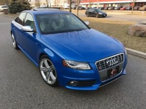 2010 AUDI S4 NAVI CAM PREM PLUS NO ACIDENT WARANTY AUDI SERVICED