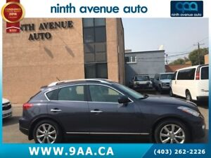2008 Infiniti EX35 Luxury 4dr All-wheel Drive, leather, one owne