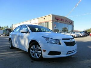 2013 Chevrolet Cruze LT TURBO, A/C, AUTO, LOADED, 73K!