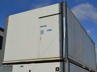 28' x 12' Anti vandal flat sided portable building unit. ideal for office use or changing room etc