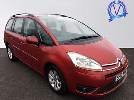 CITROEN C4 GRAND PICASSO 1.6HDi 16V VTR Plus 5dr (red) 2010
