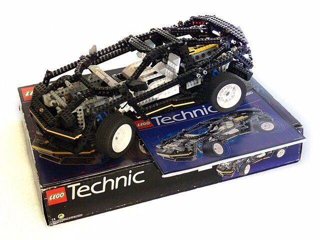 Lego Technic 8880 Supercar Very Rare Collectable Set In Kirkcaldy