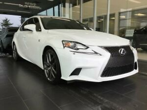 2015 Lexus IS 250 F SPORT, ACCIDENT FREE, HEATED/COOLED SEATS