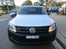 2013 Volkswagen Amarok 2H MY13 TSI300 Silver 6 Speed Manual 4D CAB CHASSIS Croydon Burwood Area Preview