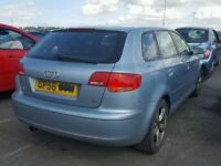 AUDI A3 2007 BREAKING FOR SPARES TEL 07814971951 HAVE FEW IN STOCK