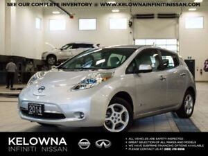 2014 Nissan Leaf SV w/LED Headlights, Quick Charge
