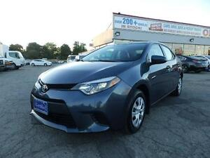 2015 Toyota Corolla AUX(NOT A RENTAL) 1 OWNER ONTARIO VEHICLE