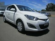 2015 Hyundai i20 PB MY16 Active Clear White 4 Speed Automatic Hatchback St Marys Mitcham Area Preview