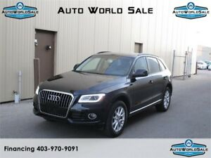2014 AUDI Q5 |2.0T QUATRO|AWD| LOW KM -WARRANTY