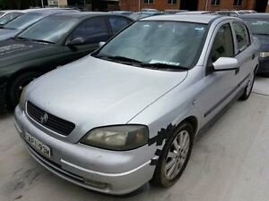 2003 Holden Astra TS CDX Silver 5 Speed Manual Sedan Georgetown Newcastle Area Preview