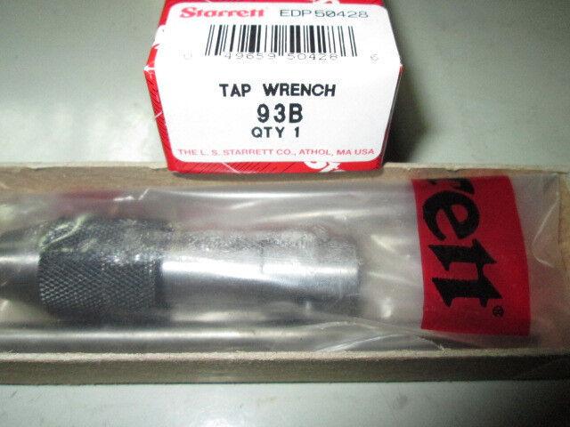 """L.S. STARRETT 93B T-WRENCH 7/32"""" -7/16""""  NEW IN BOX"""