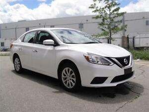 2017 NISSAN SENTRA SV-LOADED,BACK UP CAM,BLUETOOTH,ZERO ACCIDENT