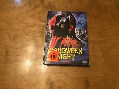 Halloween Night AKA Hack-O-Lantern Blu-Ray/DVD*Mediabook*Region B Pal*666 Made* - Halloween Blu Ray Media Book