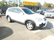 2008 Holden Captiva CG MY08 SX (4x4) White 5 Speed Automatic Wagon Werribee Wyndham Area Preview